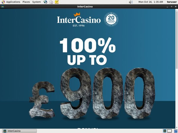 InterCasino UK Paypal Bingo