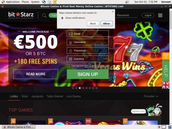 Bitstarz Online Casino Slots