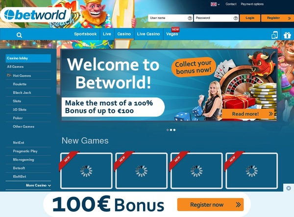 Get Betworld Bonus