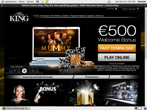 Sign Up For Casinoking