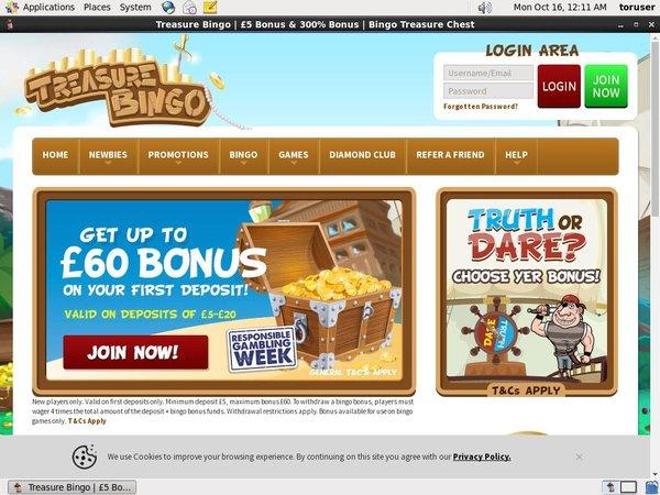 Unionpay Treasure Bingo
