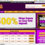 Bingo Legacy My Account