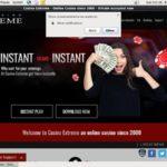 Welcome Bonus Casinoextreme
