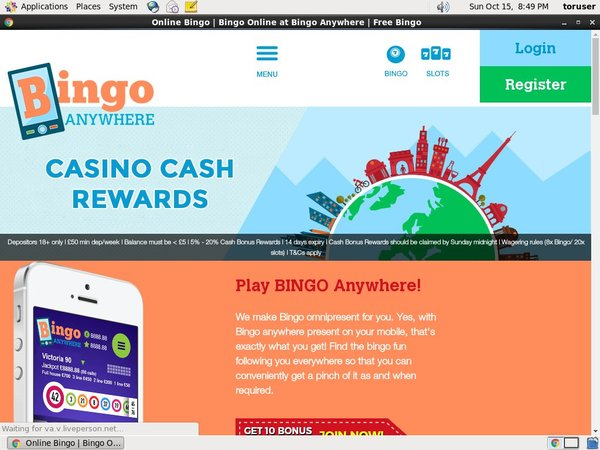 Bingo Anywhere Introductory Offer
