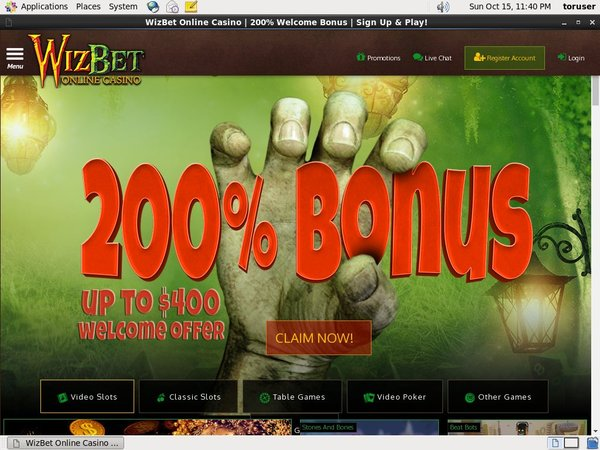 Wiz Bet Deposit Limit