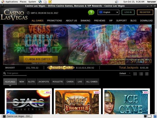 Sign Up Casinolasvegas
