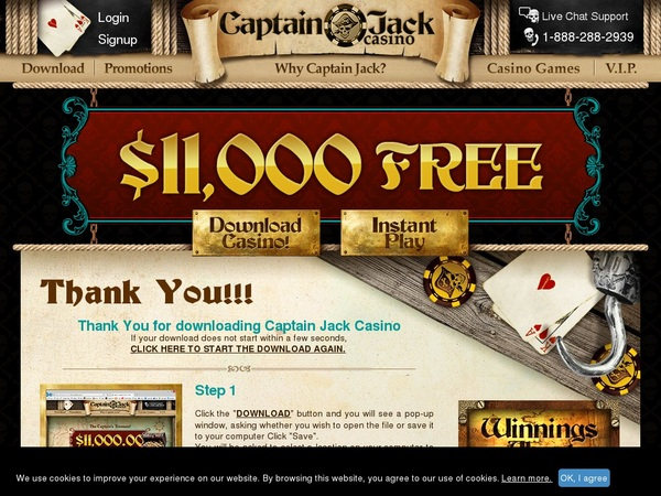 Captain Jack Casino Sign Up Offers
