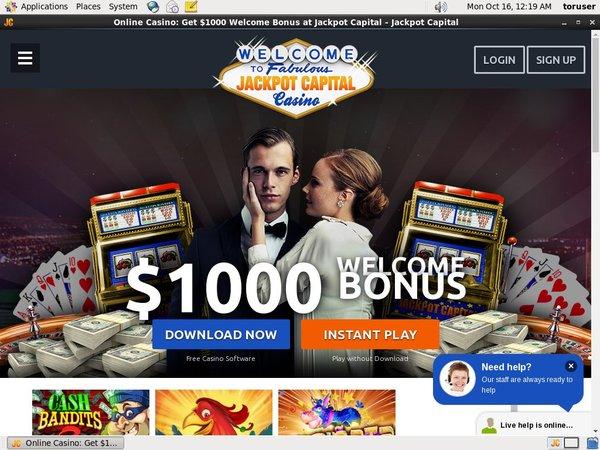 Jackpot Capital Place Bet