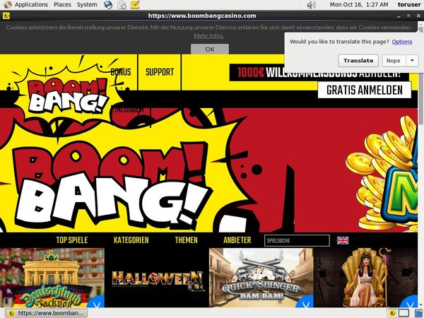 Boombang Casino Use Paypal