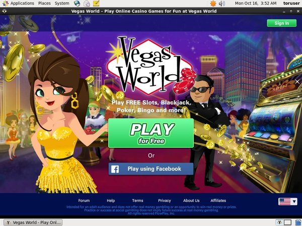 Vegasworld Online Casino