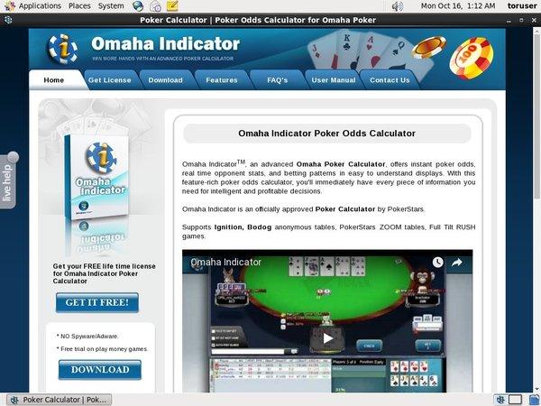 Omaha Indicator App
