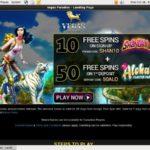 Vegasparadise Accept Paypal