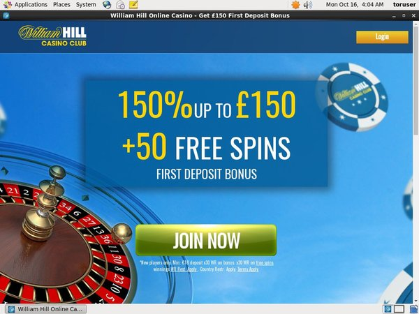 William Hill Club Discount Offer