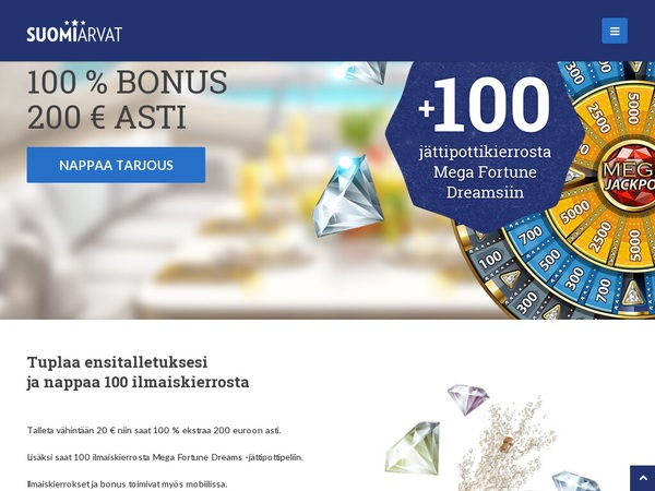 Welcome Bonus Suomiarvat