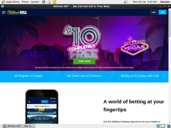 William Hill Poker Signup