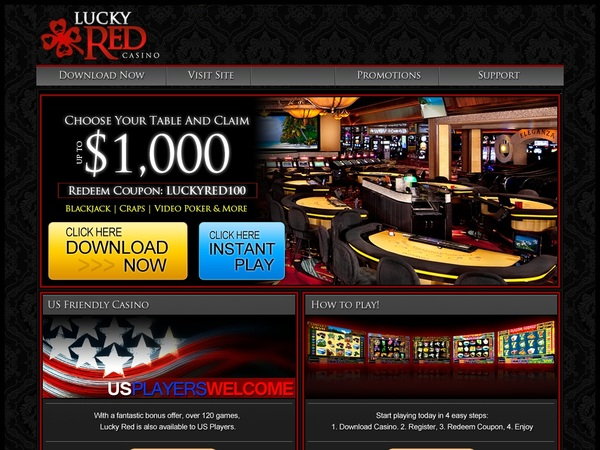 Lucky Red Casino Wagering