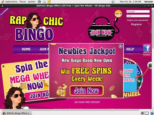Rap Chic Bingo Without Credit Card