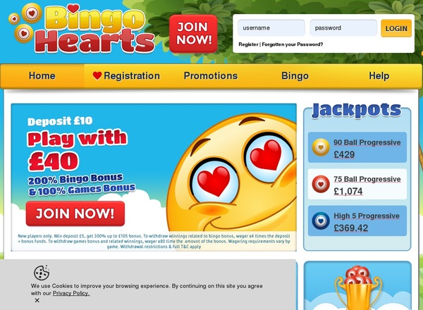 Bingo Hearts Poker Review
