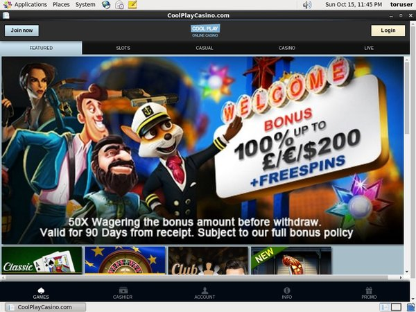 Cool Play Casino My Account