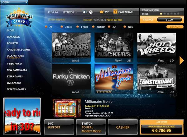 Discount Paris Vegas Casino