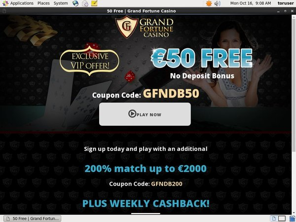 Grand Fortune 寄存器