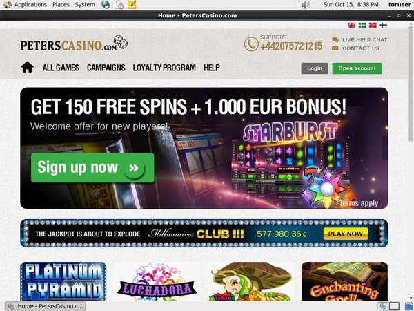 Peters Casino E Wallet