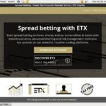 Sign Up For ETX Capital