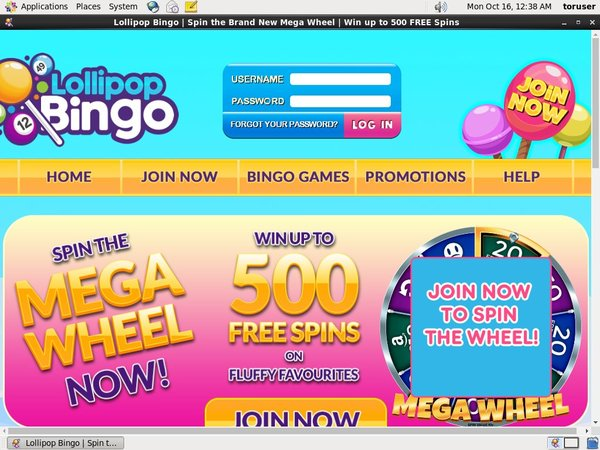 Lollipop Bingo Live Casino Uk
