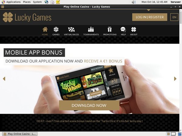 Luckygames Sports Bonus