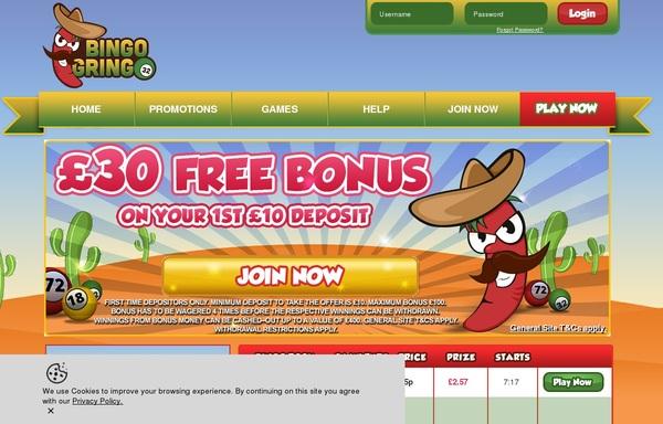 Bingo Gringo Besten Casino Bonus