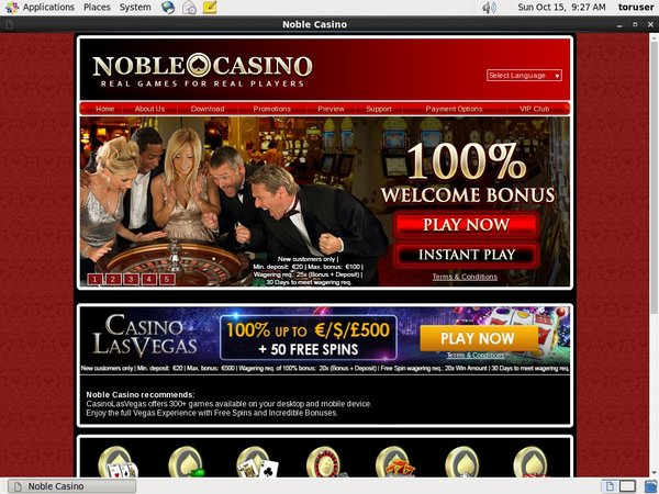 Noble Casino Spelautomater