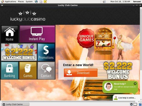 luckyclub Casino