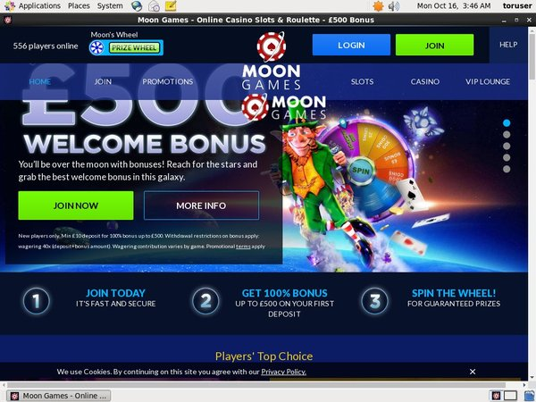 Moon Games Poker